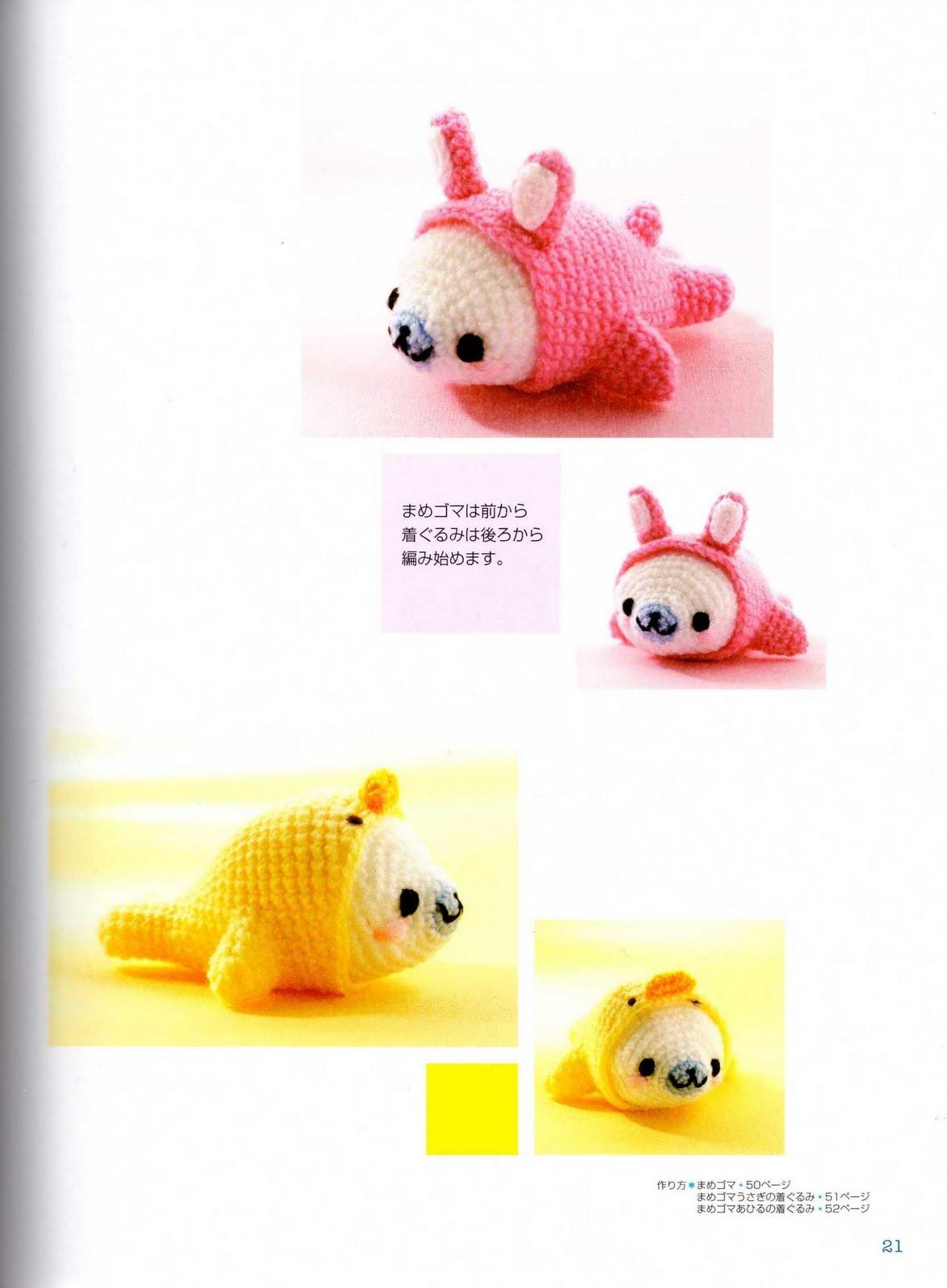 Free Crochet Amigurumi Seal Pattern : Mamegoma pattern! Craft by Grace